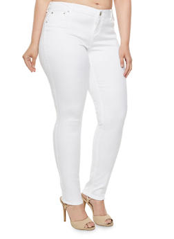 Plus Size Almost Famous Colored Skinny Jeans - 3870015996125