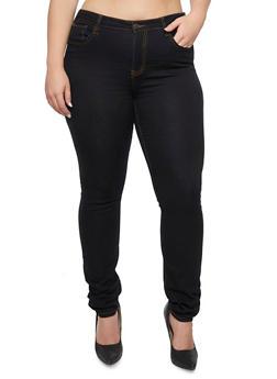Plus Size Cello Skinny Jeans - 3870063151538
