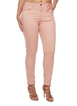 Plus Size Stretch Skinny Jeans - 3870069391346