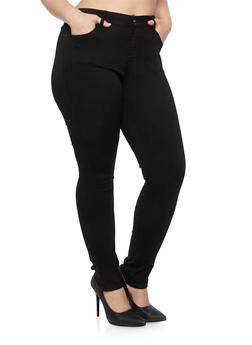 Plus Size WAX Jeans in Skinny Fit - 3870071610009