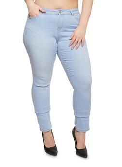 Plus Size WAX Classic Skinny Jeans - 3870071610914