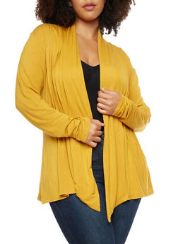 Yellow Plus Size Sweaters for Women | Rainbow