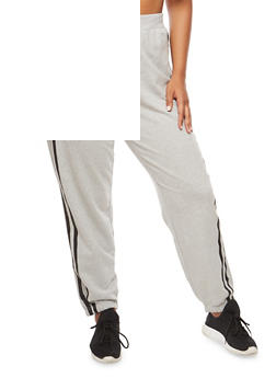 Plus Size Paradise Graphic Joggers - 3951038342745