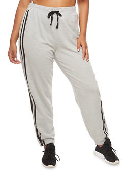 Plus Size Paradise Graphic Sweatpants - 3951038342745