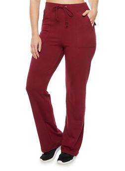 Plus Size Knit Sweatpants - 3951054265421