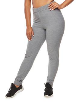 Plus Size Elastic Sweatpants - 3951058932033