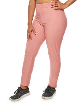 Plus Size Elastic Sweatpants - 3951058932033