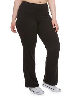 Plus Size Yoga Pants - 3961038348020