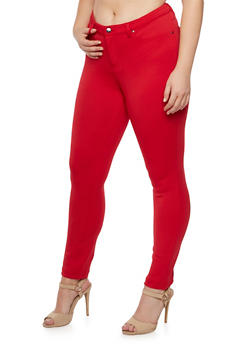 Plus Size Stretch Jeggings - 3961056576017