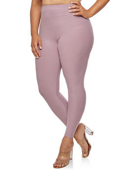 Plus Size High Waisted Casual Pants - 3969061636125