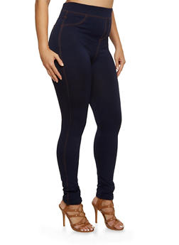 Plus Size Jeggings - 3969062901802