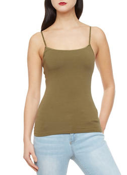 Knit Tank Top with Built In Bra - 5201054264000