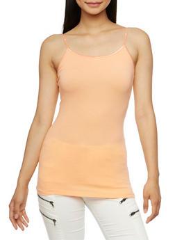Stretch Camisole with Adjustable Shoulder Straps - 5201054267001