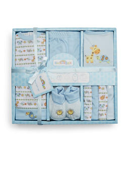 Baby Girl 9-Piece Gift Set - 5502065180031
