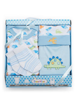 Baby Girl 4-Piece Gift Set - 5502065180036