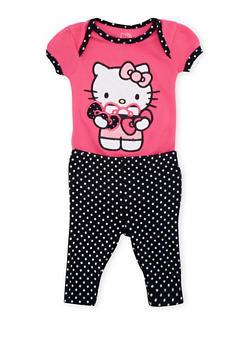 Baby Girl Hello Kitty Bodysuit and Leggings Set - 5506050090501