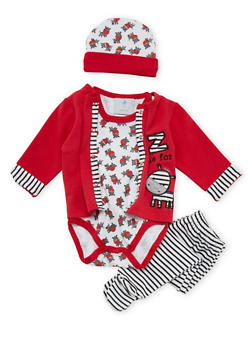 Baby Boy 4 Piece Set - 5506054734358