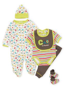Baby Boy Assorted 6-Piece Set - 5506054737121
