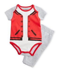 Baby Boy Trompe Loeil Bodysuit and Sweatpants - 5506060991001