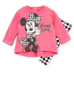 Baby Girl Minnie Mouse Graphic Sweatshirt with Leggings Set - 5506073450037