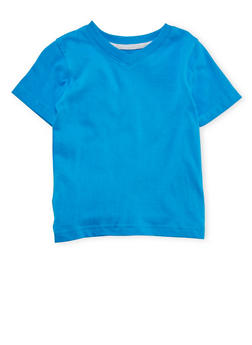 Toddler Boys French Toast Short Sleeve V-Neck Tee - 5541068321011