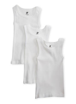 Toddler Boys Pack of 3 Undershirts - 5569054730200