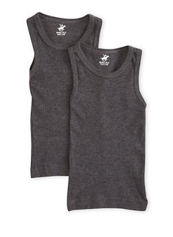 Toddler Boys Ribbed Tank Top 2 Pack - 5569054730210