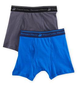 Boys 4-18 BHPC Boxer Brief 2 Pack - BLUE - 5569054730230