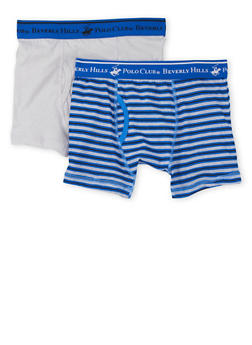 Boys 4-18 BHPC Boxer Brief 2 Pack - BLUE - 5569054730231