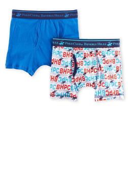 Boys 4-18 BHPC Boxer Brief 2 Pack - BLUE - 5569054730232