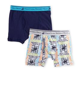 Boys 4-18 BHPC Boxer Brief 2 Pack - ROYAL - 5569054730232