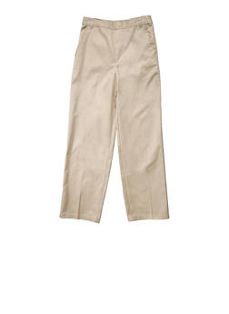 Boys 2T-4T Adjustable Pull-On Pants School Uniform - KHAKI - 5980008930050