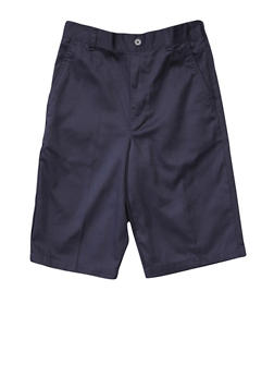 Boys 2T-4T Pull-On Shorts School Uniform - NAVY - 5981008930050