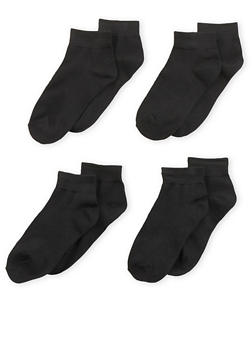 4 Pack of Ankle Socks - 6045041455855