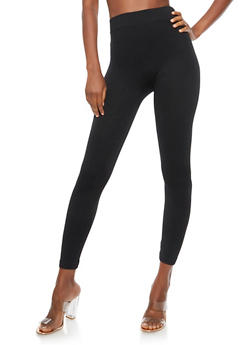 Black Spandex Leggings - 6069041450331
