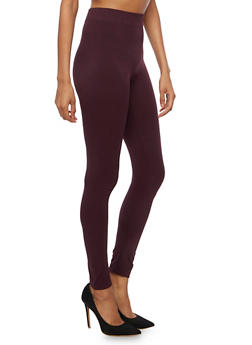 Solid Basic Leggings - 6069041450332