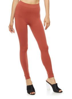 Mauvewood Basic Leggings - 6069041450335