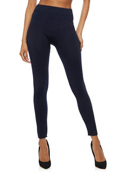 Solid Basic Leggings - 6069041450337