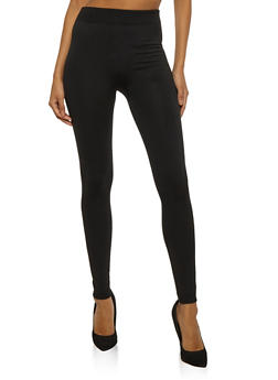 Seamless Fleece Lined Leggings - 6069041450728