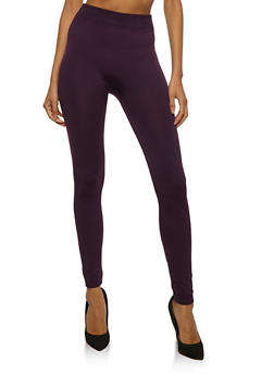Seamless Fleece Leggings - 6069041450730