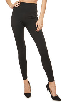 Seamless Black Leggings - 6069059165152