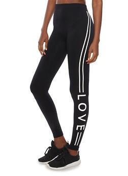 Love Active Leggings - 6069064873007