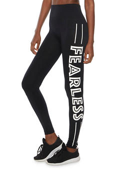 Fearless Active Leggings - 6069064877297