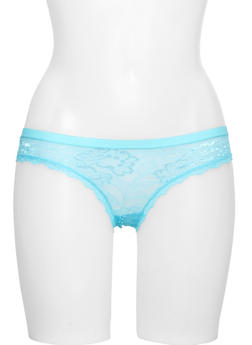 Lace Hipster Panties - 6150055521903