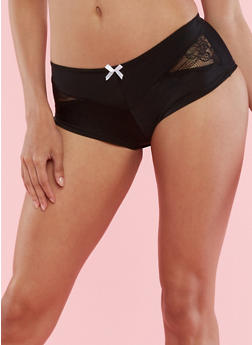 Cheeky Boy Short Panties with Lace Detail - 6150064870544