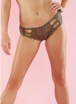 Cheeky Lace Hipster Panties - 6150068060244