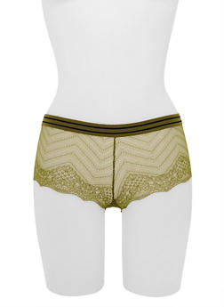 Lace Boyshort Panties - 6150068069078