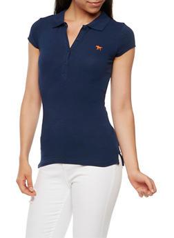 Short Sleeve Polo Top - 6203054260186