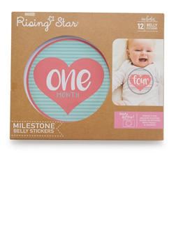 Baby Milestone Belly Stickers - 6503067501830