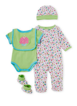 Baby Girl 5 Piece Set - 6506065180101
